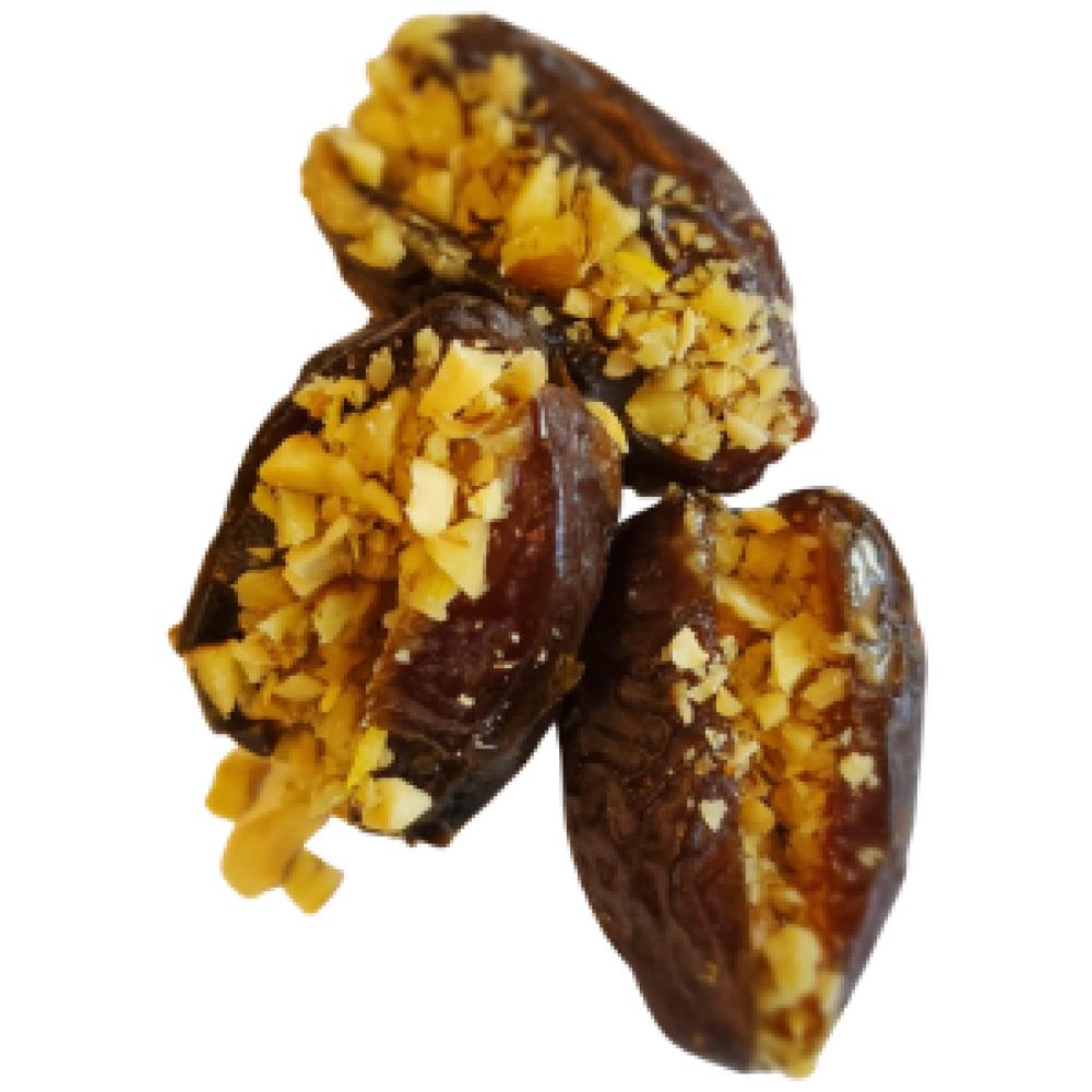 תמר ממולא בסומסומיה אגוזים וגרידת לימון (12 יח')